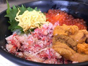 黒潮市場、海鮮丼、北海丼