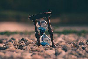 時間、砂時計