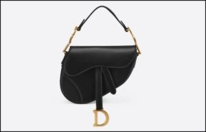 Dior、ブラックカーフスキン