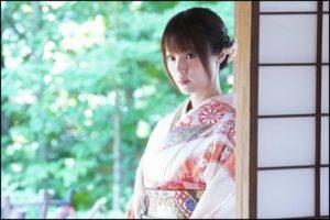 深田恭子、着物姿