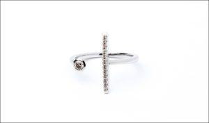 Hirotaka、Gossamer Short Diamond Ring (WhiteGold)