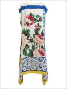 Weekend Maxmara、Silk crepe de chine dress