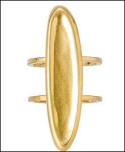 ADER.bijoux、BLOCK PEARL ring
