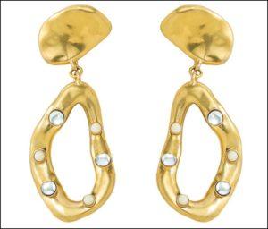 ADER.bijoux、CAMELEON double earring
