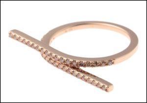 Hirotaka、Manhattan Double Bridge Diamond Ring