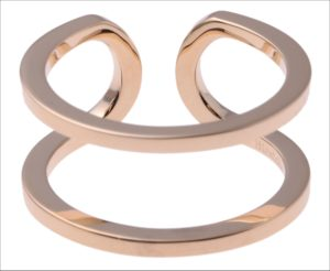 Hirotaka、Manhattan Double Line Ring